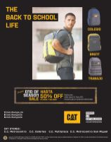 Back to School LIFE STYLE CAT sale store disocunts - 06ene15