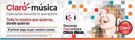 CLARO music stream service for you smartphone