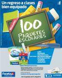 CUPONES para ganar paquetes escolares FACELA - 07ene15