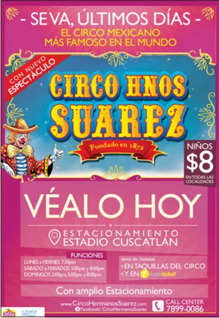 Circo mexicano Hnos Suarez - 14ene15