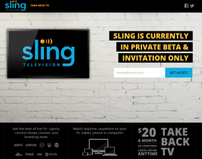 DISH Sling television services TAKE back TV