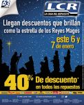 Descuentos de reyes magos LCR repuestos - 05ene15