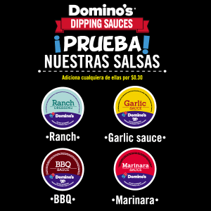 Dominos pizza SAUCE festival