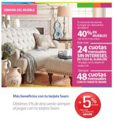 FURNITURE week SEARS store - 27ene15