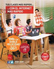 Internet mas rapido mayor capacidad CLARO - 13ene15