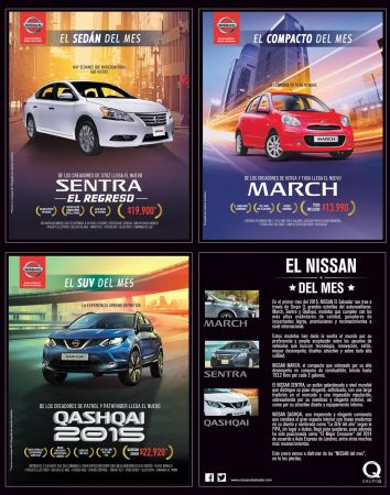 NISSAN cars trend of month MARCH SENTRA QASHQAI