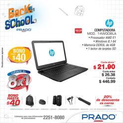 PRADO Bono de 40 dolares por tus compras de laptops - 10ene15