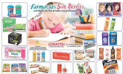 Promociones en farmacias san nicolas - 19ene15