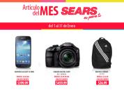 SEARS ofertas en los articulos de MES enero 2015