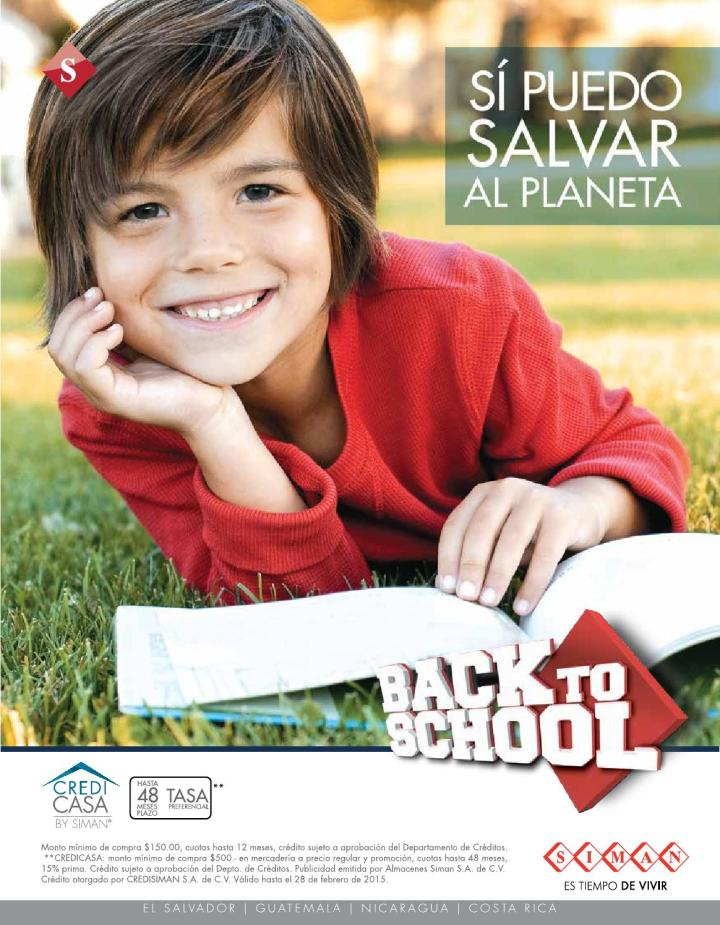 SIMAN back to school 2015 catalogo offers