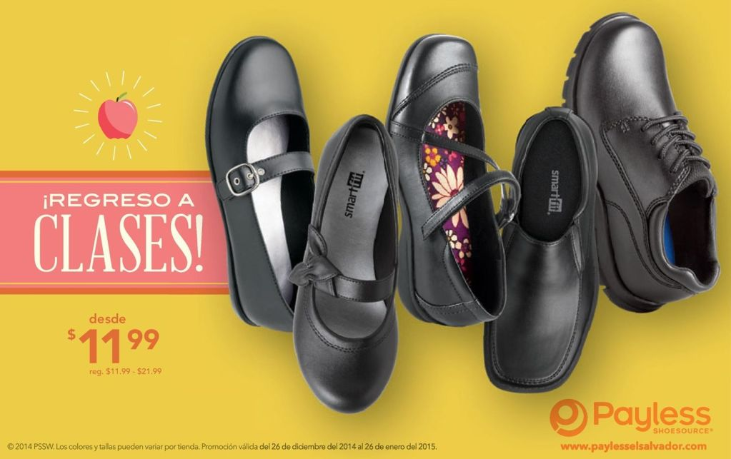 SMART FIT shoes by payless go to college - 16ene15