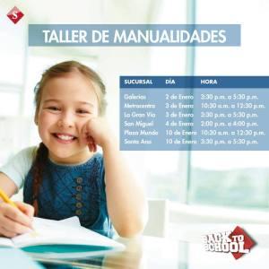 Taller de manualidades for kids SIMAN - 03ene15