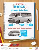 Toyota HIACE suv micro bus promotion