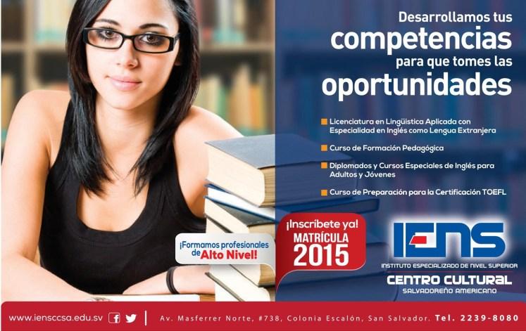centro cultural salvadoreño 2015 formando profesionales y tecnicos