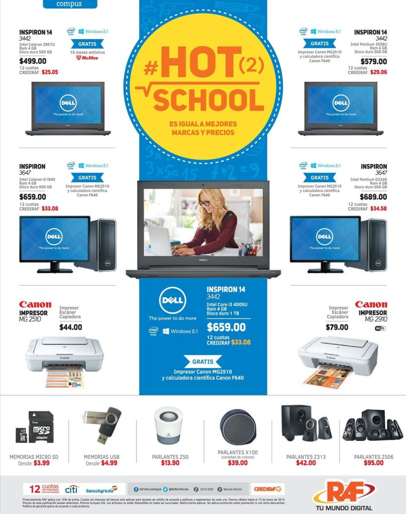 computers and electronics HOT school offers - 08ene15
