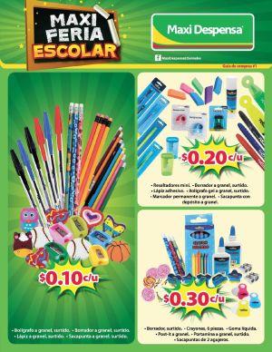 destacado ofertas maxi Feria escolar - 02ene15