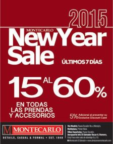 montecarlo gentleman NEW YEAR SALE - 09ene15