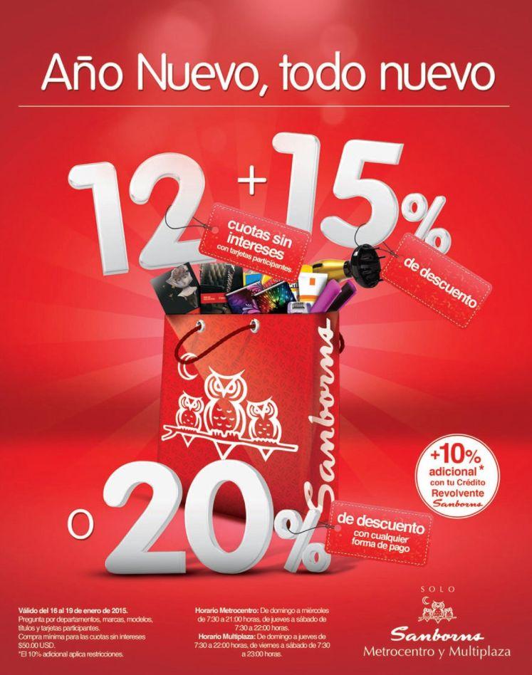 new YEAR disocunts SAMBORNS el salvador - 16ene15