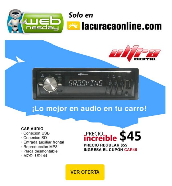 oferta ULTRA Digital car audio system - 28ene15