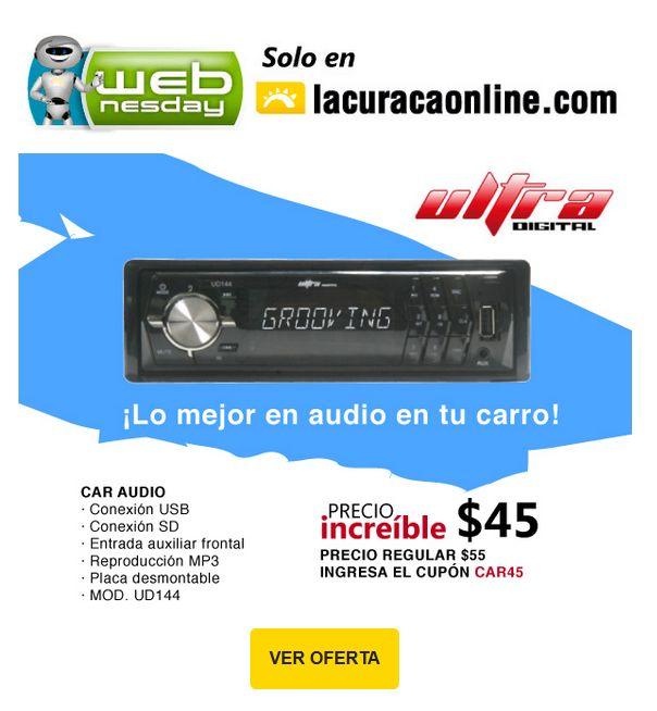 oferta ULTRA Digital car audio system - 28ene15