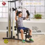 oferta mini GYM at home GOLD gym machines