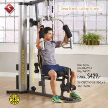oferta mini GYM at home GOLD gym machines