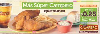 promociones de martyes y jueves POLLO CAMPERO