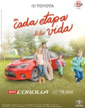 promotion new toyota COROLLA 2015