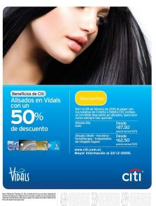 50 OFF alisado en salon VIDALS - 03feb15