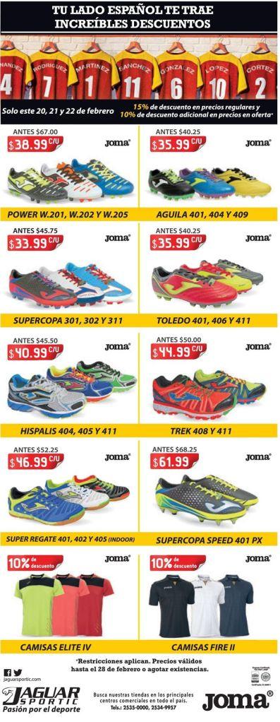 Almacen jaguar sportic variedad de productos deportivos - 20feb15