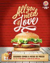 BURGER KING weekend promotions san valentines - 13feb15
