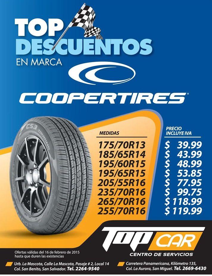 COOPER tires ofertas top car - 16feb15