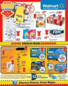 Derrumbe de precios en tecnologia y supermercado WALMART - 06feb15