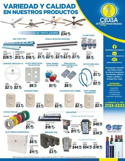 Ferreteria CELASA productos electricos - 16feb15