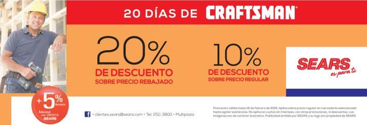 Ferreteria SEARS productos CRAFTSMAN - 16feb15