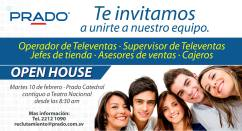 JOBS open house opportunity PRADO - 10feb15
