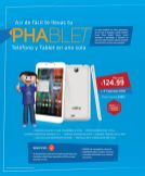 LA CURACAO new PHABLET ultra digital promociones CLARO - 12feb15