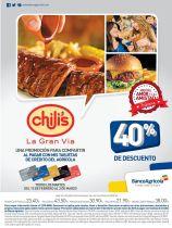 La gran via promocion para comer en CHILIS - 17feb15
