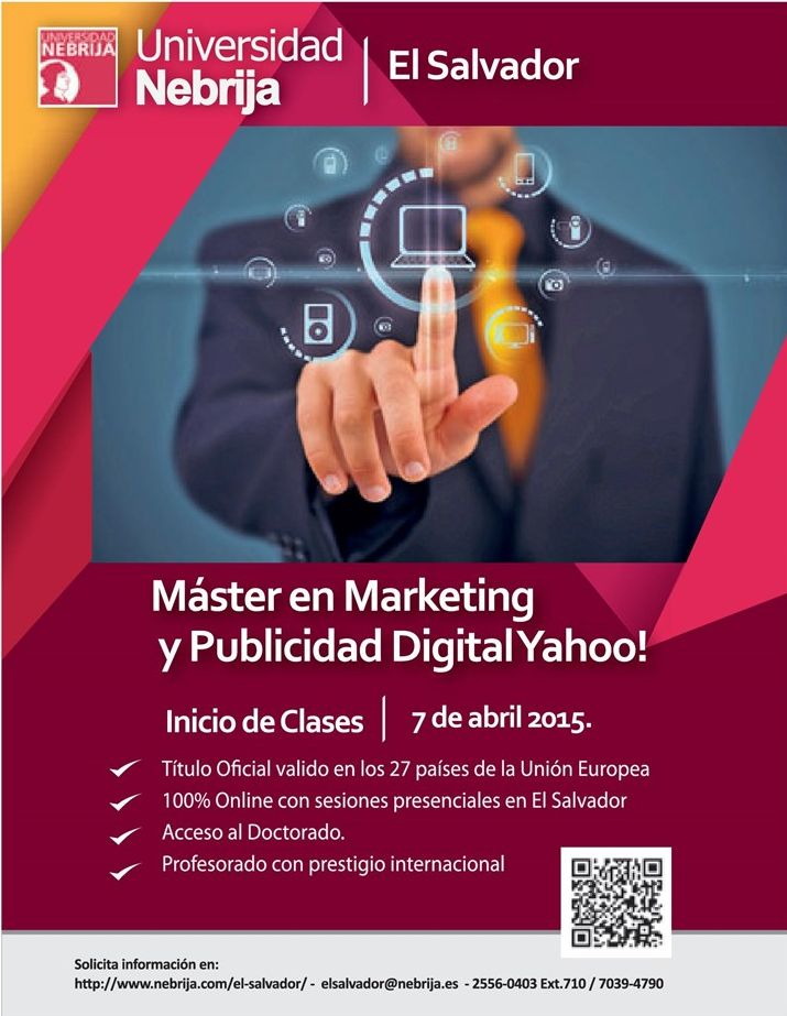 Master degre MARKETING a Digital publicity YAHOO