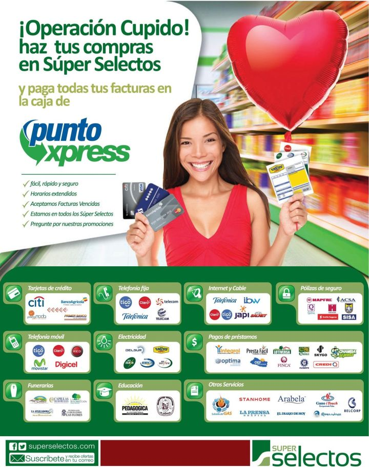 Pagos de factura en los super selectos - 20feb15