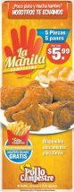 Pollo campestre promocion te hechamos la manita - 12feb15