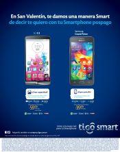 Regalos san valentin smartphone TIGO