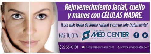 Rejuvenecimiento facial cuello con CELULAS MADRES tratamiento - 20feb15