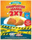 Siempre damos lo mejor POLLO CAMPESTRE mania promocion - 18feb15
