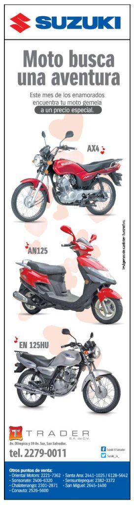 TRADER savings suzuki motors