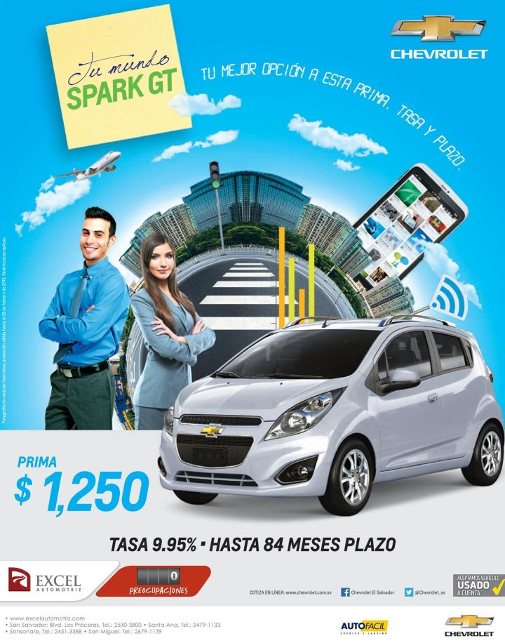 chverolet spark car motor - 19feb15