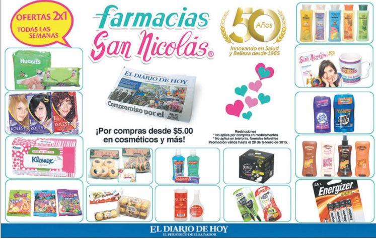 farmacia san nicolas ofertas 2x1 toda la semana - 16feb15