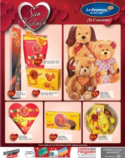 regalos sweets LA DESPENSA 14 de febrero - 13feb15