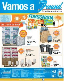 Busca la furgonada de ofertas ahora viernes en FREUND - 13mar15
