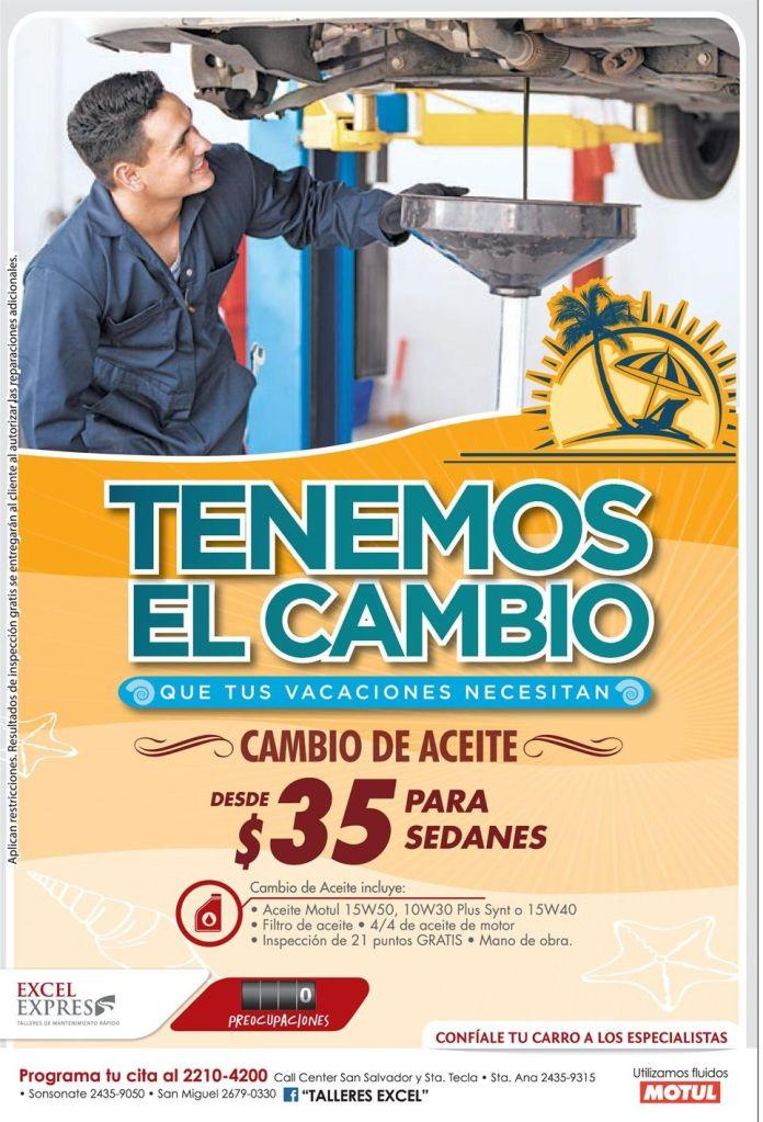 CAMBIO de aceite para autos MOTUL - 11mar15